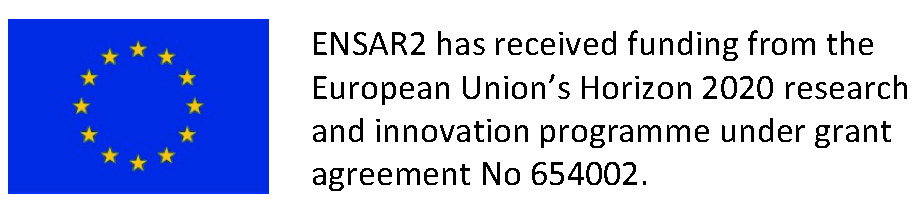 ENSAR2 has received funding from the European Union's Horizon 2020 research and innovation programme under grant agreement No 654002